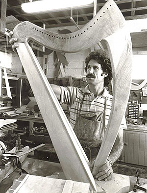 Ross building folk harps