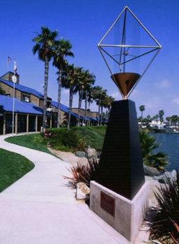 Chula Vista Marina Memorial Wind Harp