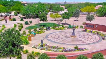 La Posada Meditation Garden Wind Harp