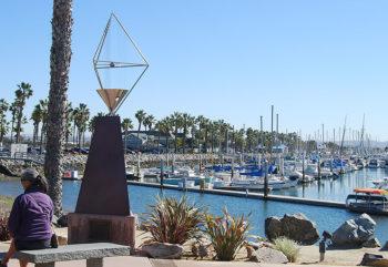 Ron McElliott Memorial Wind Harp, Chula Vista, CA